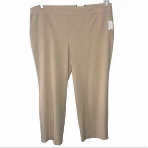 NEW!!!  Roz & Ali tan trousers 22W short